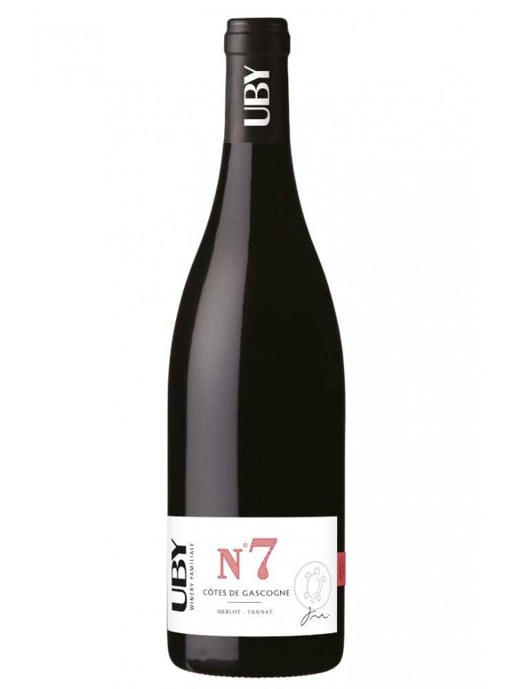 Bouteille de uby-n7 tannat merlot 2016